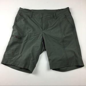 Athleta Green Trekkie Shorts